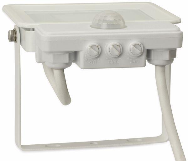 LED-Fluter, Bewegungsmelder OPTONICA FL5842, EEK: A+, 10 W, 4500K, weiß - Produktbild 5