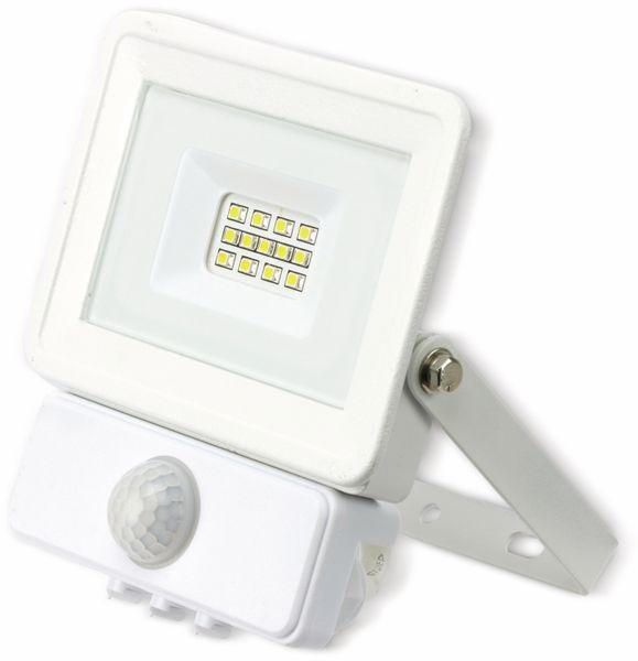 LED-Fluter, Bewegungsmelder OPTONICA FL5843, EEK: A+, 10 W, 2700K, weiß - Produktbild 2