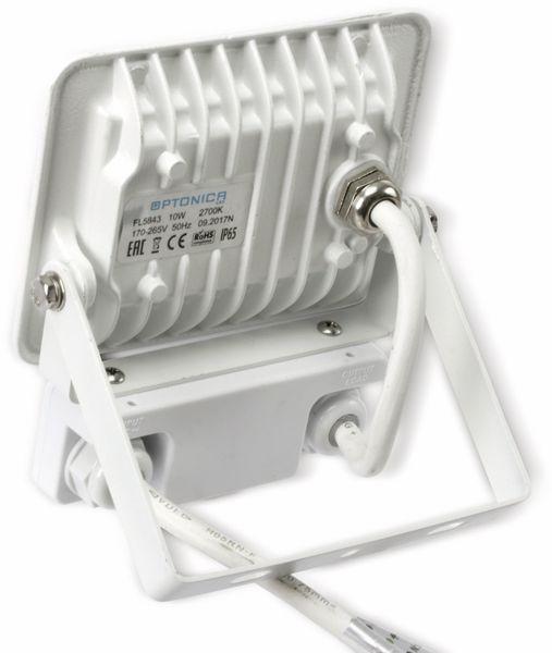 LED-Fluter, Bewegungsmelder OPTONICA FL5843, EEK: A+, 10 W, 2700K, weiß - Produktbild 3