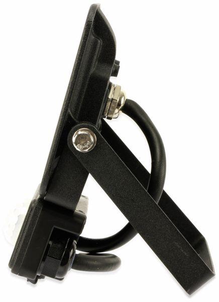 LED-Fluter, Bewegungsmelder OPTONICA FL5854, EEK: A+, 10 W, 4500K, schwarz - Produktbild 3