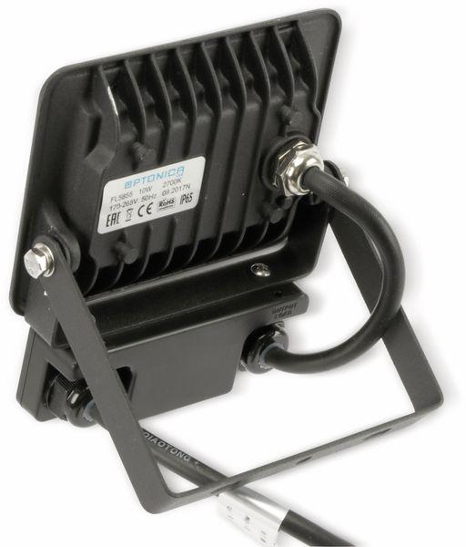 LED-Fluter, Bewegungsmelder OPTONICA FL5855, EEK: A+, 10 W, 2700K, schwarz - Produktbild 3