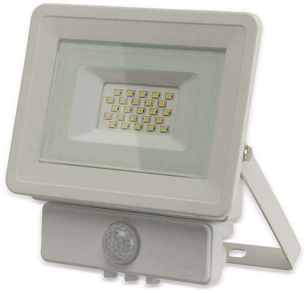 LED-Fluter, Bewegungsmelder OPTONICA FL5844, EEK: A+, 20 W, 6000K, weiß - Produktbild 2