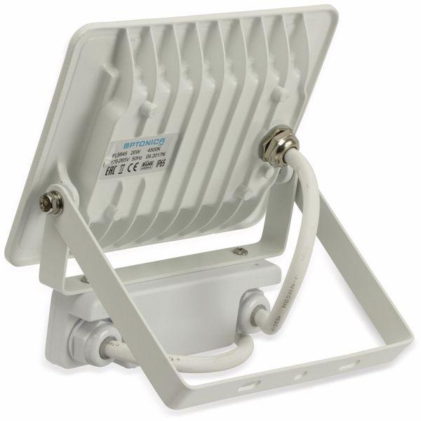 LED-Fluter, Bewegungsmelder OPTONICA FL5844, EEK: A+, 20 W, 6000K, weiß - Produktbild 4