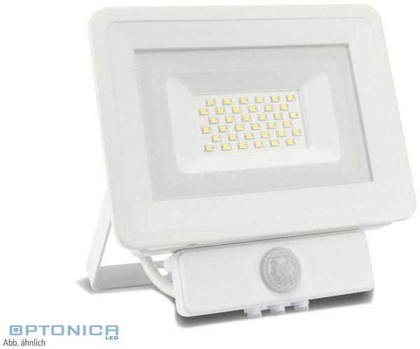 LED-Fluter, Bewegungsmelder OPTONICA FL5845, EEK: A+, 20 W, 4500K, weiß