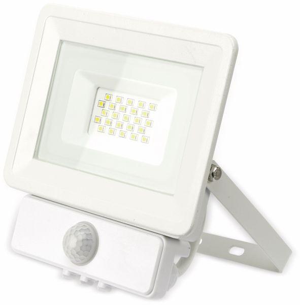LED-Fluter, Bewegungsmelder OPTONICA FL5846, EEK: G, 20 W, 2700K, weiß - Produktbild 2