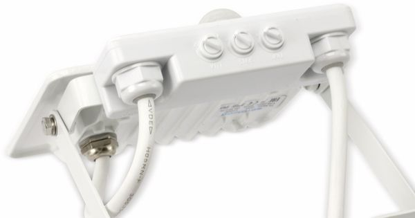 LED-Fluter, Bewegungsmelder OPTONICA FL5846, EEK: A+, 20 W, 2700K, weiß - Produktbild 4