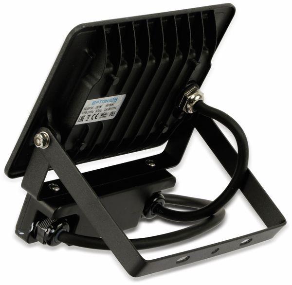 LED-Fluter, Bewegungsmelder OPTONICA FL5857, 20 W, 4500K, schwarz - Produktbild 4