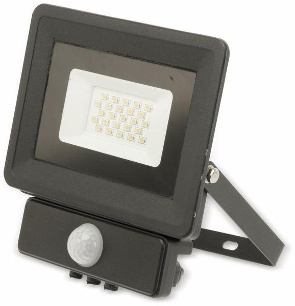 LED-Fluter, Bewegungsmelder OPTONICA FL5858, EEK: A+, 20 W, 2700K, schwarz - Produktbild 2