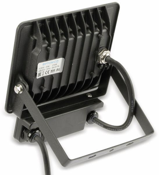 LED-Fluter, Bewegungsmelder OPTONICA FL5858, EEK: A+, 20 W, 2700K, schwarz - Produktbild 3
