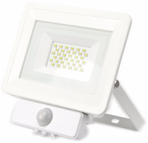 LED-Fluter, Bewegungsmelder OPTONICA FL5848, EEK: A+, 30 W, 4500K, weiß - Produktbild 2