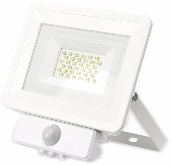 LED-Fluter, Bewegungsmelder OPTONICA FL5849, EEK: A+, 30 W, 2700K, weiß - Produktbild 2
