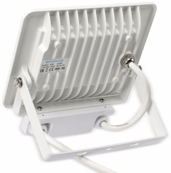 LED-Fluter, Bewegungsmelder OPTONICA FL5849, EEK: A+, 30 W, 2700K, weiß - Produktbild 3