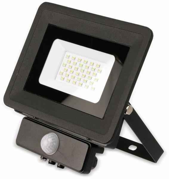 LED-Fluter, Bewegungsmelder OPTONICA FL5861, EEK: A+, 30 W, 2700K, schwarz - Produktbild 2