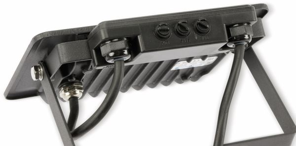 LED-Fluter, Bewegungsmelder OPTONICA FL5861, EEK: F, 30 W, 2700K, schwarz - Produktbild 4