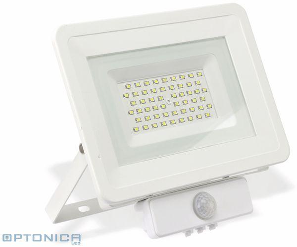 LED-Fluter, Bewegungsmelder OPTONICA FL5850, EEK: A+, 50 W, 6000K, weiß