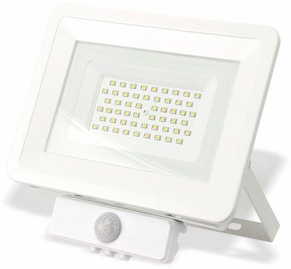 LED-Fluter, Bewegungsmelder OPTONICA FL5851, EEK: A+, 50 W, 4500K, weiß - Produktbild 2