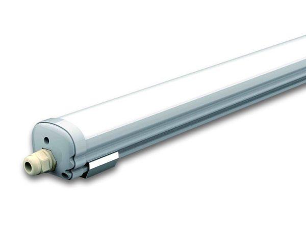 LED-Feuchtraum-Wannenleuchte, VT-1249 (6284) EEK: A+, 36 W, 120 cm, 6000K