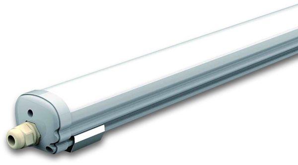 LED-Feuchtraum-Wannenleuchte, VT-1249 (6284) EEK: G, 36 W, 120 cm, 6400K