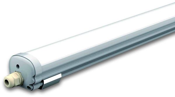 LED-Feuchtraum-Wannenleuchte, VT-1574 (6287) EEK: G, 48 W, 150 cm, 4500K