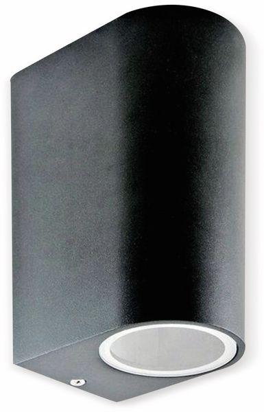 Up Down Strahler VT-7652 (7509), 230V~, GU10, IP 44, Aluminium, schwarz