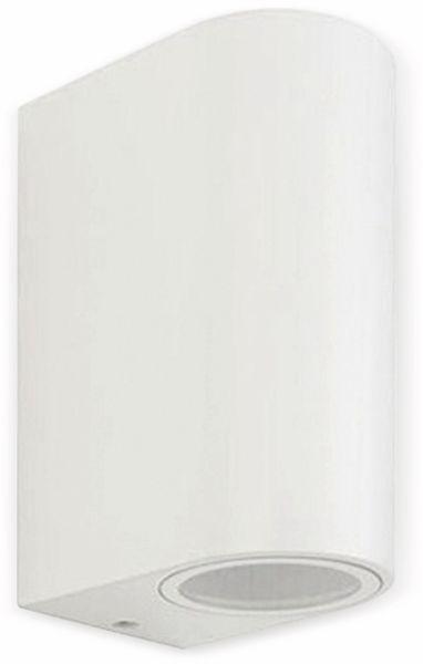 Up Down Strahler VT-7652 (7542), 230V~, GU10, IP 44, Aluminium, weiß