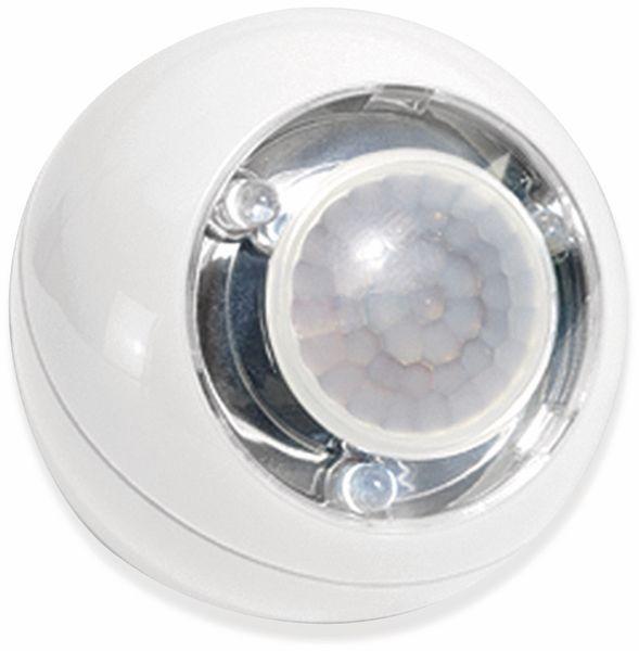LED Lichtball LLL GEV 728 mit Bewegungsmelder, batteriebetrieb, weiß