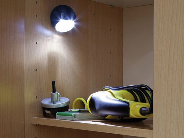LED Lichtball LLL GEV 742 mit Bewegungsmelder, batteriebetrieb, orange - Produktbild 3