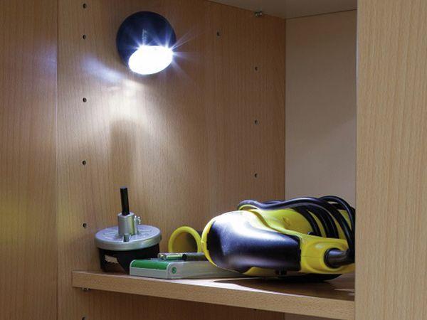 LED Lichtball LLL GEV 759 mit Bewegungsmelder, batteriebetrieb, gelb - Produktbild 3