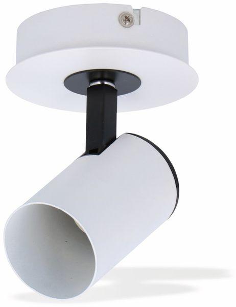 Deckenleuchte GRUNDIG, GU10, 1flammig, weiß/schwarz