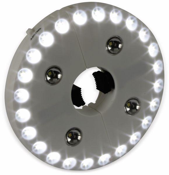 LED-Sonnenschirmbeleuchtung, WS-9821S, weiß - Produktbild 5