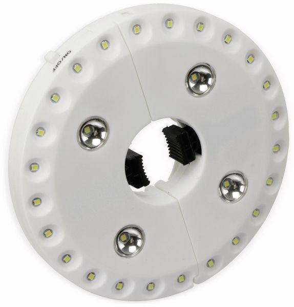 LED-Sonnenschirmbeleuchtung, WS-9821S, weiß - Produktbild 6