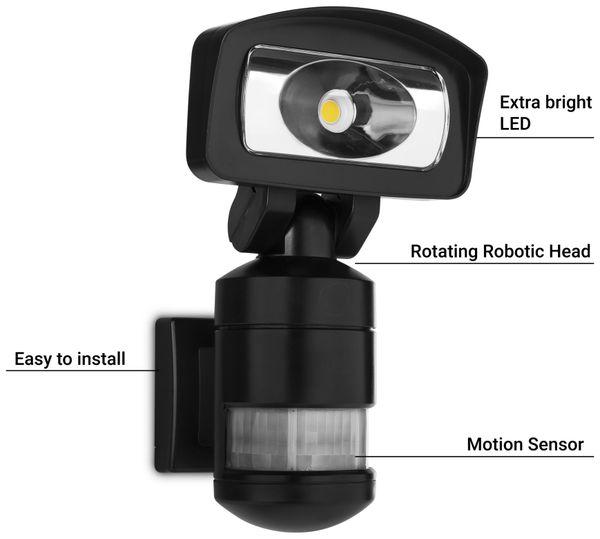 LED-Sicherheitsleuchte SMARTWARES FSL-80114, 16 W, 1400 lm, IP44 - Produktbild 2