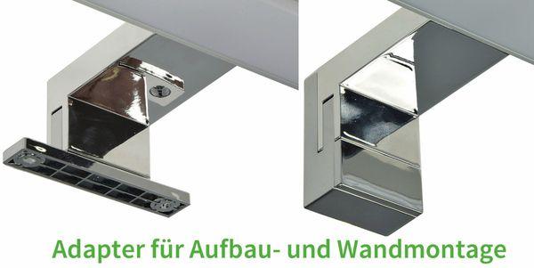 "LED Spiegelleuchte ""Banho 8W"", EEK: F, 230V, 8W, 640lm, 400 mm, 4000K - Produktbild 4"