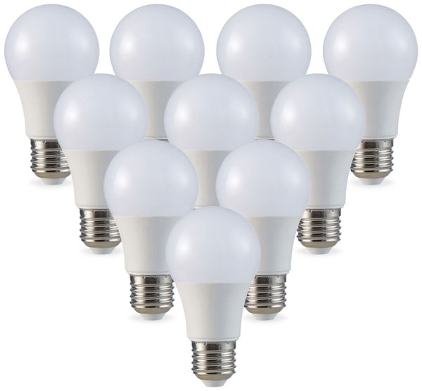 LED-Lampe V-TAC VT-2099 (7260), E27, EEK: A+, 9 W, 806 lm, 2700 K, 10 Stk.