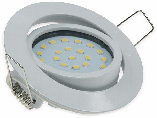 """LED-Einbauleuchte """"Flat-26"""" EEK A+, 4 W, 330 lm, 2700 K, weiß - Produktbild 4"""