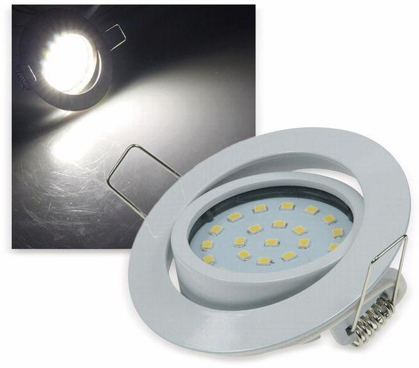 "LED-Einbauleuchte ""Flat-26"" EEK F, 4 W, 350 lm, 4000 K, weiß"