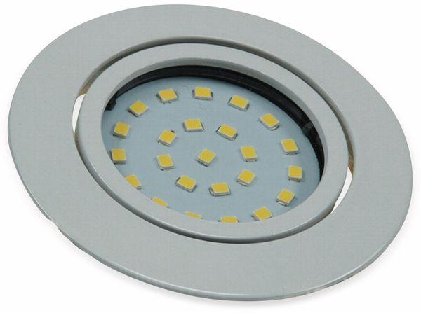"""LED-Einbauleuchte """"Flat-26"""" EEK F, 4 W, 350 lm, 4000 K, weiß - Produktbild 2"""