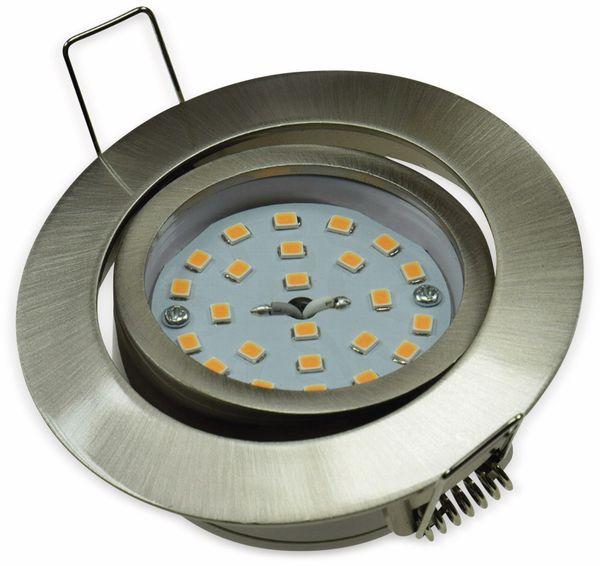"""LED-Einbauleuchte """"Flat-32"""" EEK A+, 5 W, 470 lm, 2900 K, Edelstahl - Produktbild 2"""