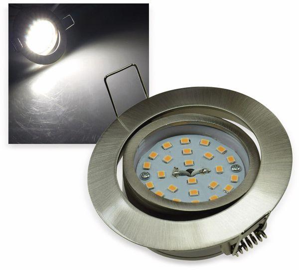 """LED-Einbauleuchte """"Flat-32"""" EEK A+, 5 W, 490 lm, 4000 K, Edelstahl"""