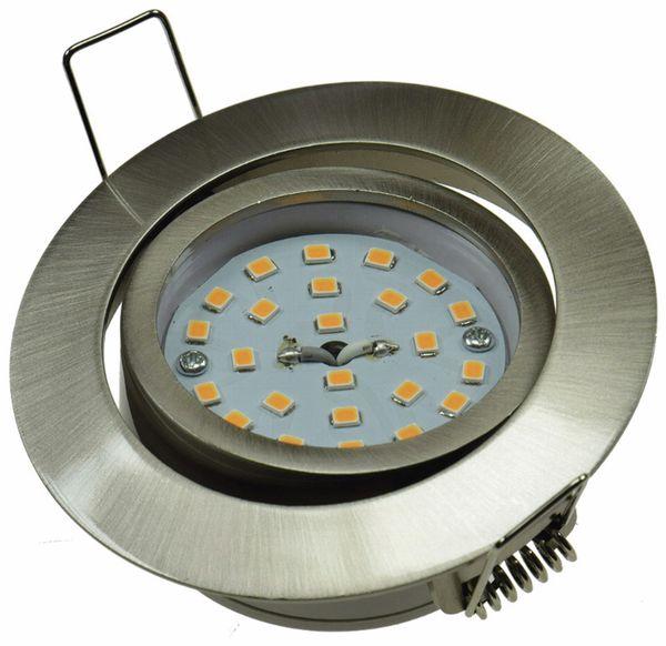 """LED-Einbauleuchte """"Flat-32"""" EEK A+, 5 W, 490 lm, 4000 K, Edelstahl - Produktbild 2"""
