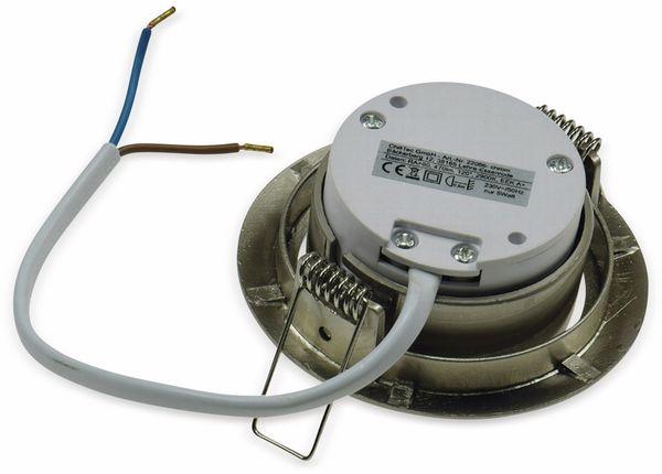 """LED-Einbauleuchte """"Flat-32"""" EEK A+, 5 W, 490 lm, 4000 K, Edelstahl - Produktbild 3"""