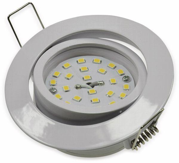 """LED-Einbauleuchte """"Flat-32"""" EEK A+, 5 W, 470 lm, 2900 K, weiß - Produktbild 2"""