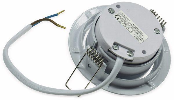 "LED-Einbauleuchte ""Flat-32"" EEK E, 5 W, 470 lm, 2900 K, weiß - Produktbild 3"