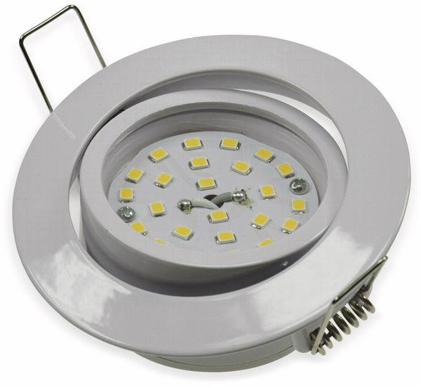 "LED-Einbauleuchte ""Flat-32"" EEK E, 5 W, 490 lm, 4000 K, weiß - Produktbild 2"