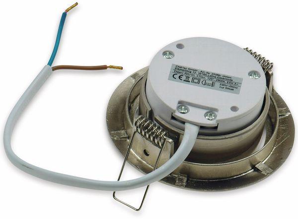 "LED-Einbauleuchte ""Flat-32"" EEK F, 5 W, 420 lm, 2900 K, Edelstahl, dimmbar - Produktbild 3"