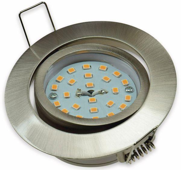 "LED-Einbauleuchte ""Flat-32"" EEK A+, 5 W, 440 lm, 4000 K, Edelstahl, dimmbar - Produktbild 2"