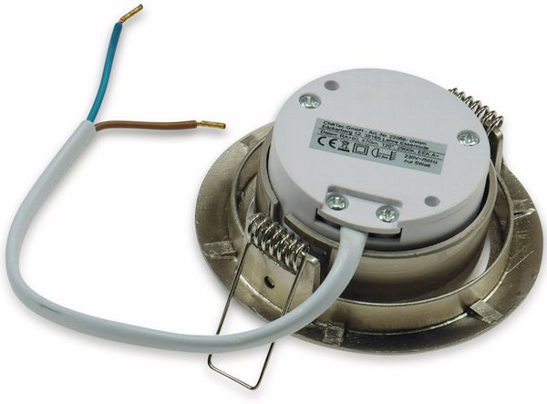 "LED-Einbauleuchte ""Flat-32"" EEK A+, 5 W, 440 lm, 4000 K, Edelstahl, dimmbar - Produktbild 3"