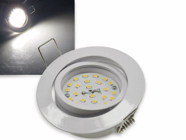 "LED-Einbauleuchte ""Flat-32"" EEK A+, 5 W, 440 lm, 4000 K, weiß, dimmbar"