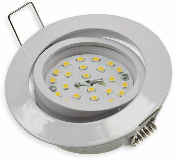 "LED-Einbauleuchte ""Flat-32"" EEK A+, 5 W, 440 lm, 4000 K, weiß, dimmbar - Produktbild 2"