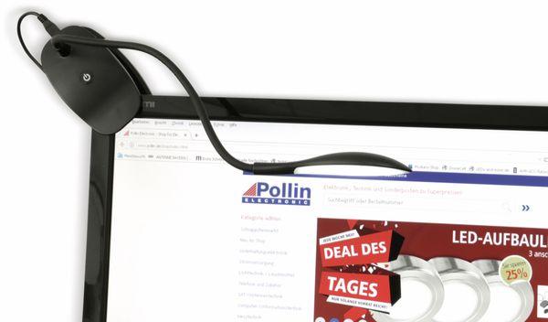 LED-Schreibtischleuchte DAYLITE SL-2, EEK: A, 3,5 W, 110 lm, schwarz - Produktbild 7